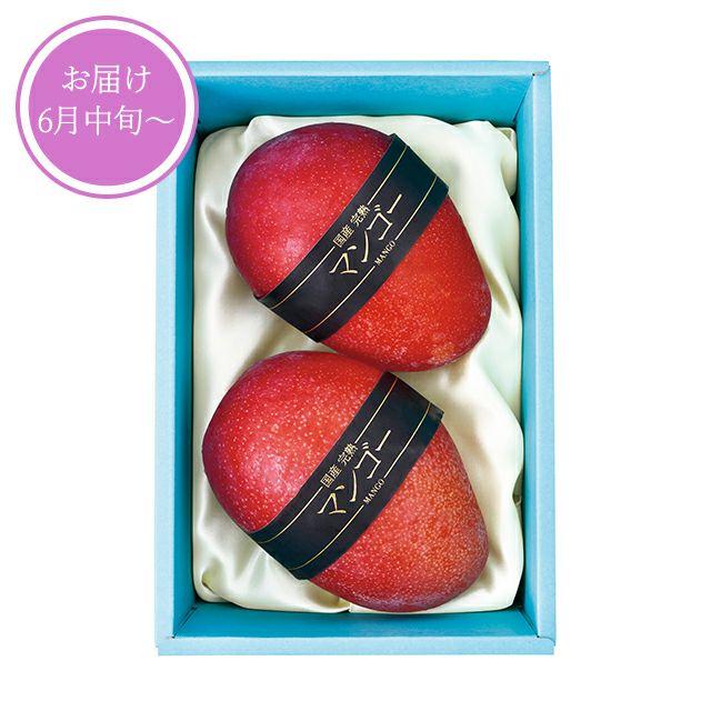 国産完熟マンゴ(2Lサイズ)2個入